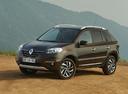 Фото авто Renault Koleos 1 поколение [2-й рестайлинг], ракурс: 45 цвет: коричневый