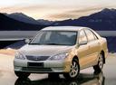 Фото авто Toyota Camry XV30 [рестайлинг], ракурс: 45 цвет: бежевый