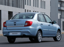 Фото авто Datsun on-DO 1 поколение, ракурс: 225 цвет: голубой