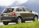 Фото авто Opel Antara 1 поколение, ракурс: 225 цвет: салатовый