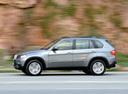 Фото авто BMW X5 E70, ракурс: 90 цвет: серебряный