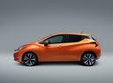 Фото авто Nissan Micra K14, ракурс: 90 цвет: оранжевый
