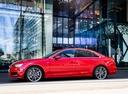 Фото авто Audi A4 B9, ракурс: 90 цвет: красный