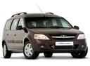 Фото авто ВАЗ (Lada) Largus 1 поколение, ракурс: 315 - рендер цвет: коричневый
