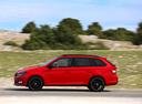 Фото авто Skoda Fabia NJ, ракурс: 90 цвет: красный