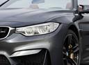 Фото авто BMW M4 F82/F83, ракурс: передняя часть цвет: серый