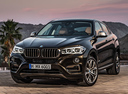 Фото авто BMW X6 F16, ракурс: 45 цвет: коричневый