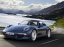Фото авто Porsche 911 991, ракурс: 45 цвет: синий