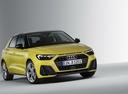 Фото авто Audi A1 2 поколение, ракурс: 315 - рендер цвет: желтый