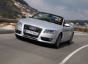 Фото авто Audi A5 8T, ракурс: 45 цвет: серебряный