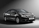 Фото авто Nissan Sentra B17, ракурс: 315 цвет: черный
