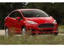 Фото авто Ford Fiesta 6 поколение [рестайлинг], ракурс: 315 цвет: красный