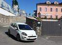 Фото авто Fiat Punto 3 поколение [2-й рестайлинг], ракурс: 315 цвет: белый
