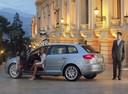 Фото авто Audi A3 8P/8PA [рестайлинг], ракурс: 135 цвет: серебряный