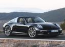 Фото авто Porsche 911 991, ракурс: 315 цвет: черный