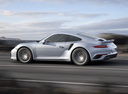 Фото авто Porsche 911 991 [рестайлинг], ракурс: 90 цвет: мокрый асфальт