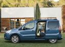 Фото авто Citroen Berlingo 2 поколение, ракурс: 90 цвет: голубой