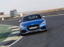 Фото авто Audi TT 8S,  цвет: голубой