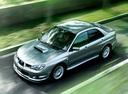 Фото авто Subaru Impreza 2 поколение [2-й рестайлинг], ракурс: 45 цвет: серебряный