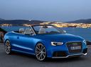 Фото авто Audi RS 5 8T [рестайлинг], ракурс: 315 цвет: голубой