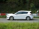 Фото авто Mazda 3 BL, ракурс: 90 цвет: белый