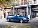 Фото авто BMW 1 серия F20/F21, ракурс: 270 цвет: синий