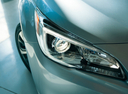 Фото авто Subaru Legacy 6 поколение, ракурс: передние фары