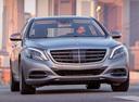 Фото авто Mercedes-Benz S-Класс W222/C217/A217, ракурс: 315 цвет: серый