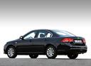 Фото авто Kia Magentis 2 поколение [рестайлинг], ракурс: 135 цвет: черный