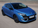 Фото авто Renault Megane 3 поколение [рестайлинг], ракурс: 315 цвет: синий