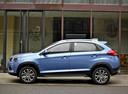 Фото авто Chery Tiggo 2 1 поколение, ракурс: 90 цвет: голубой