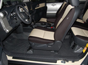Фото авто Toyota FJ Cruiser 1 поколение, ракурс: салон целиком