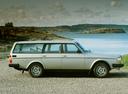 Фото авто Volvo 240 1 поколение, ракурс: 270 цвет: серебряный