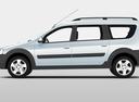Фото авто ВАЗ (Lada) Largus 1 поколение, ракурс: 90 цвет: белый