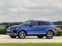 Фото авто Volkswagen Touareg 2 поколение [рестайлинг], ракурс: 90 цвет: синий