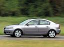 Фото авто Mazda 3 BK, ракурс: 90 цвет: серый