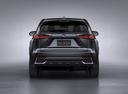 Фото авто Lexus NX 1 поколение [рестайлинг], ракурс: 180 цвет: черный