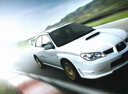 Фото авто Subaru Impreza 2 поколение [2-й рестайлинг], ракурс: 315 цвет: белый
