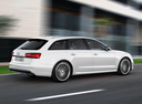 Фото авто Audi S6 C7, ракурс: 225 цвет: белый