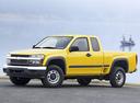 Фото авто Chevrolet Colorado 1 поколение, ракурс: 45
