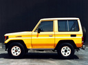 Фото авто Toyota Land Cruiser J70, ракурс: 90