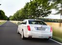 Фото авто Cadillac CT6 1 поколение, ракурс: 135 цвет: белый