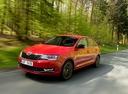Фото авто Skoda Rapid 3 поколение [рестайлинг], ракурс: 45 цвет: красный