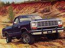 Фото авто Dodge Ram 1 поколение, ракурс: 315 цвет: синий