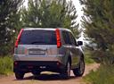 Фото авто Nissan X-Trail T31, ракурс: 180 цвет: серебряный