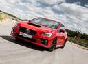 Фото авто Subaru Impreza 4 поколение [рестайлинг], ракурс: 45 цвет: красный