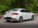 Фото авто Hyundai Elantra AD [рестайлинг], ракурс: 225 цвет: белый