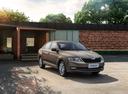 Фото авто Skoda Rapid 3 поколение [рестайлинг], ракурс: 315 цвет: бежевый