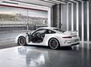 Фото авто Porsche 911 991, ракурс: 135 цвет: белый