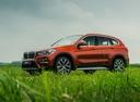 Фото авто BMW X1 F48, ракурс: 45 цвет: бронзовый
